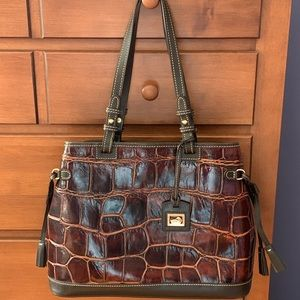 Dooney and Bourke Double Strap Satchel